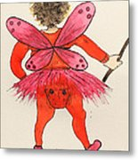 Sales Fairy Dancer 1 Metal Print