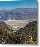 Saline Valley Panorama Metal Print