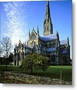 Salisbury Cathedral. 1220-1258. United Metal Print