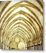 Salisbury Cathedral Cloisters 2 Metal Print