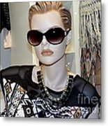 Sally In Shades Metal Print