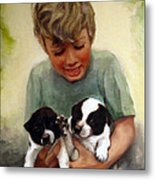 Sally's Boys Metal Print