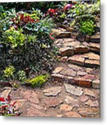 Sally's Garden Metal Print by Nancy Harrison