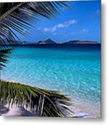 Saloman Beach - St. John Metal Print by Stephen  Vecchiotti