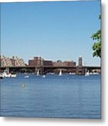 Salt And Pepper Bridge Metal Print