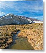 Salt Creek Death Alley National Park Metal Print