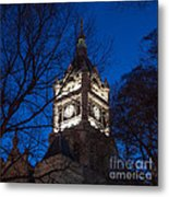 Salt Lake City And County Building At Night Metal Print