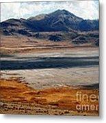 Salt Lake City Antelope Island Metal Print