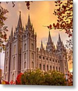 Salt Lake City Temple Metal Print