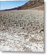 Salt Pan Sands Metal Print