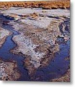 Salt Stream Confluence Metal Print