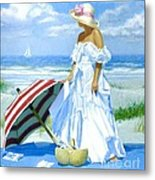 Salt Water Blues Metal Print