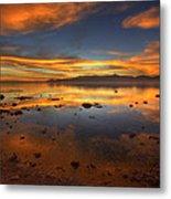 Salton Sea Color Metal Print