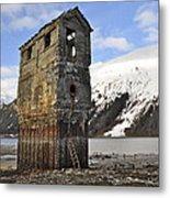 Saltwater Pump House Metal Print