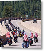 Salute To Veterans Rally Metal Print