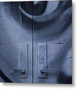 Salvador Dali Doors Graffiti Art Metal Print