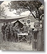 Salvation Army At Front Metal Print