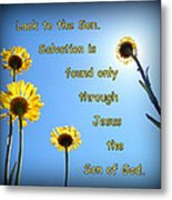 Salvation In The Son Metal Print