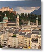 Salzburg After The Storm Metal Print