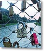Salzburg Gypsy Locks Metal Print