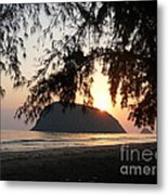 Sam Roi Yod At Dawn Metal Print