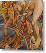 Samadhi On Westminster Bridge Metal Print