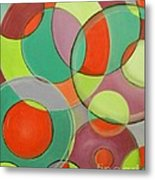 Same Shape Different Sizes Metal Print