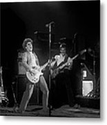 Sammy And Bill On Stage In Spokane In 1977 Metal Print