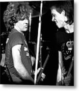 Sammy And Gary Metal Print