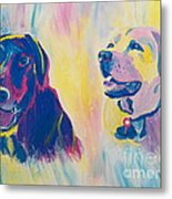 Sammy And Toby Metal Print