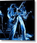 S H Bending A Cosmic Note In Spokane In 1977 Metal Print