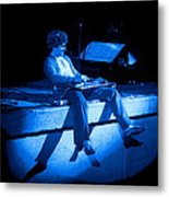 S H Plays The Blues In Spokane On 2-2-77 Metal Print
