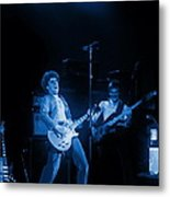 Sammy Plays The Blues In Spokane In 1977 Metal Print
