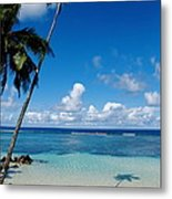 Samoan Paradise Metal Print