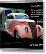 Sample Car Artwork Readme Metal Print