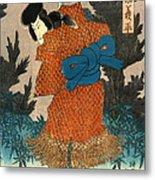 Samurai Actor 1847 R Metal Print