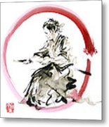 Samurai Enso Bushido Way. Metal Print