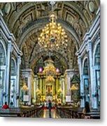 San Agustin Church  Metal Print