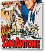 San Antone, Us Poster Art, From Left Metal Print
