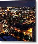 San Antonio - High Above San Antonio Metal Print