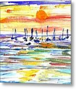 San Antonio Bay Metal Print