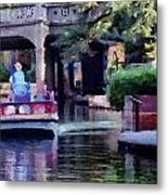 San Antonio Scene Metal Print by Cary Shapiro