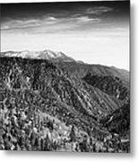 San Bernardino Snow Metal Print