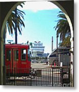 San Diego Transportation Metal Print
