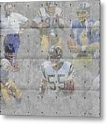 San Diego Chargers Legends Metal Print