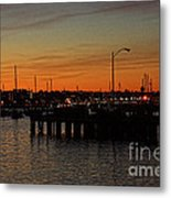 San Diego Harbor Sunset Metal Print