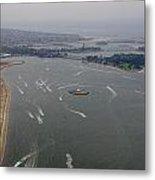 San Diego Mission Bay Aerial 4 Metal Print
