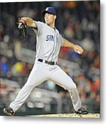 San Diego Padres V. Washington Nationals Metal Print