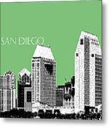 San Diego Skyline 2 - Apple Metal Print