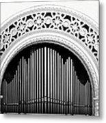 San Diego Spreckels Organ Metal Print